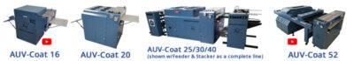 American Utraviolet AUV-25/30/40 UV Coater