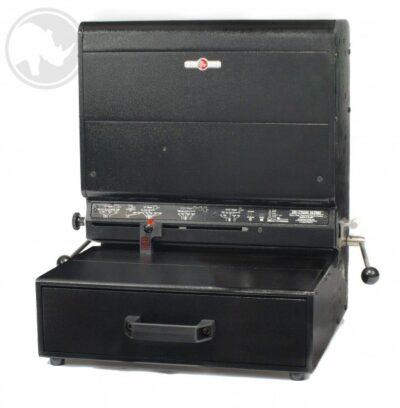 Rhin-O-Tuff Onyx HD770H Ultima Heavy Duty Electric Hole Punch