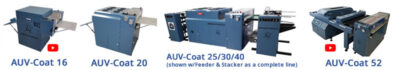 American Utraviolet AUV-20 UV Coater