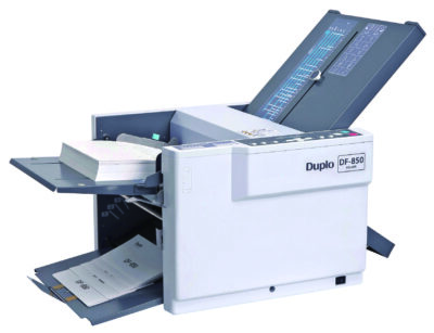Duplo DF-850 Tabletop Folder